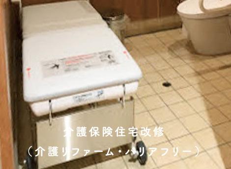 介護保険住宅改修(介護リファーム・バリアフリー)