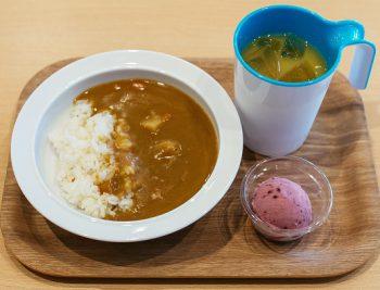 【MINI PLATE】カレーセット(お子様でも安心の甘口カレー)