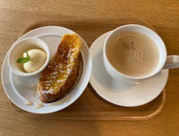 たっぷり卵のフレンチトースト(モーニング)